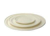 丸い皿、四角い皿 -林友加-
