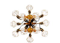 reconstruction chandelier リコンストラクションシャンデリア -共栄デザイン 岡本光市 kouichi okamoto-