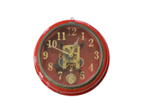 testis wall clock -Womb brocante-