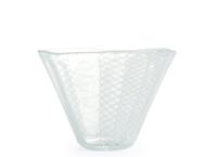 綾の小鉢、綾のグラス、リボンのぐいのみ -えむに(水上竜太)-